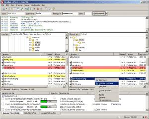 Programa Filezilla