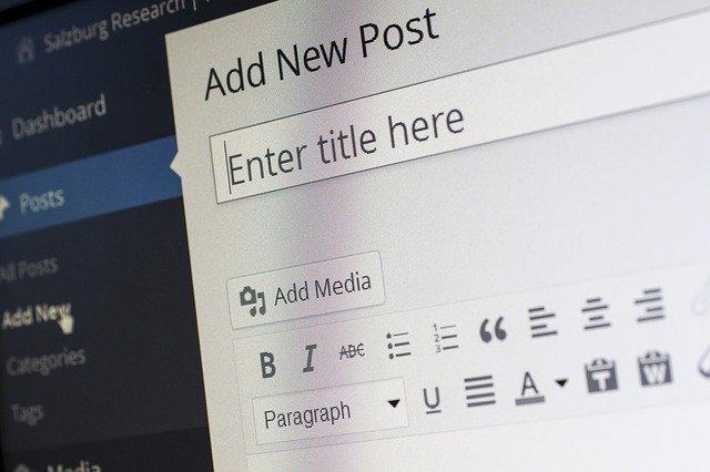 Ejemplo de un Panel de Administración de WordPress