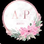 icono ejemplo plantilla boda